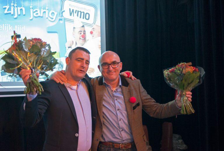 Frans Lustermans en Miquel Wijngaards, directeur van Kenniscentrum WMO in Meppel