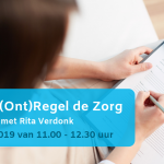 Kenniscentrum WMO in Meppel verzorgt sessie (Ont)Regel de zorg met Rita Verdonk