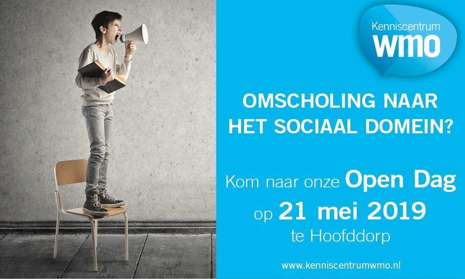 Opendag Kenniscentrum WMO - 21 mei in Hoofddorp